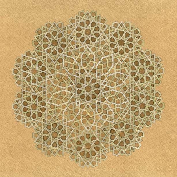 #geometry #Islamicart (© Dana Awartani)