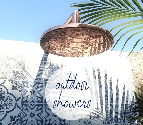 Amazing Outdoor SHOWERS in medieterrarium blog