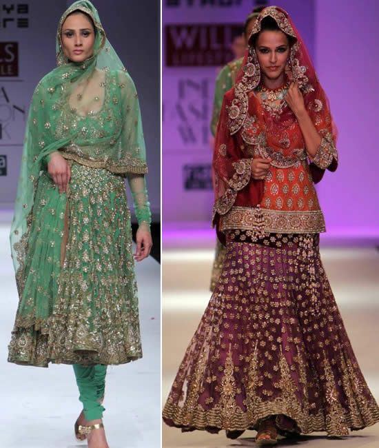 Jaya Rathore showcased her Autumn/Winter 2010 collection at the Wills Lifestyle India Fashion Week recently with Neha Dhupia walking the ramp for her