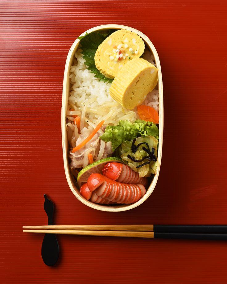 もやしと豚肉のレンジ蒸し弁当 / Microwave-Steamed Bean Sprouts & Pork Bento お弁当を作ったら #edit_jp で投稿してね!