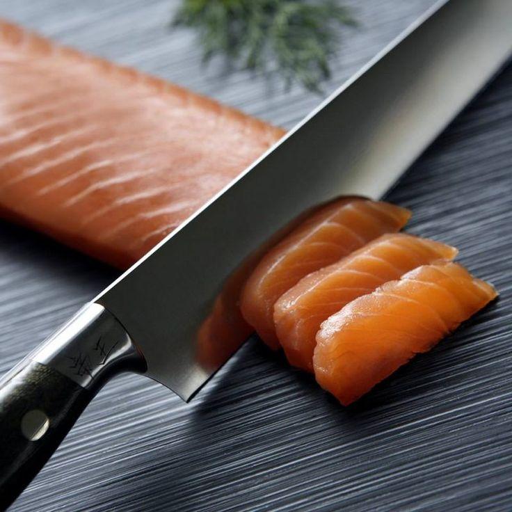 Insalata di salmone Loch Fyne in cestino di pasta phyllo