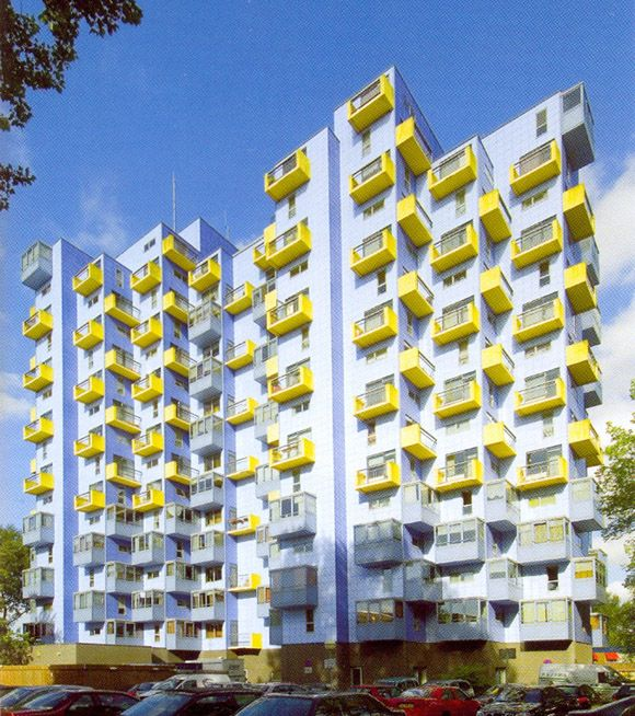 "germanpostwarmodern: "" Home for the Elderly ""Siloam"" (1969-74) in Rotterdam, the…"