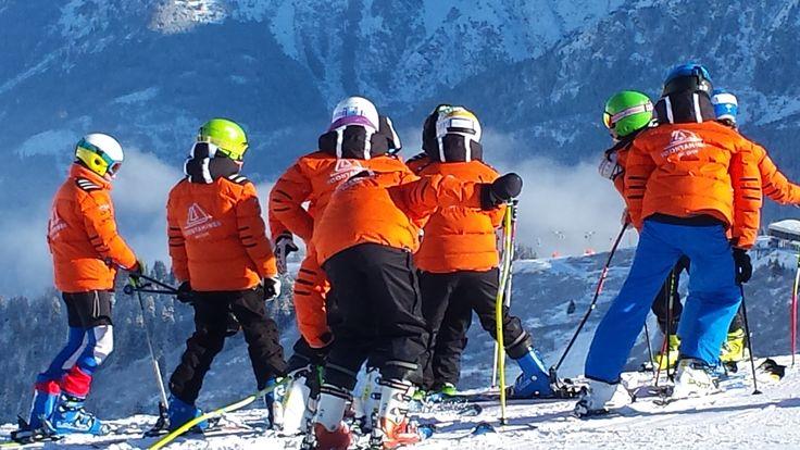 Le ski club fait la fête.