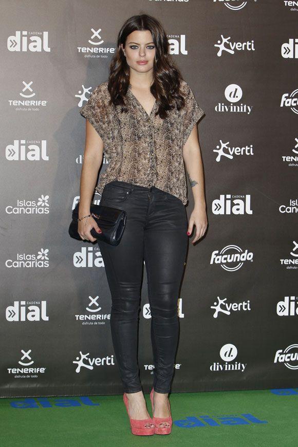 La actriz Adriana Torrebejano en los Premios Dial