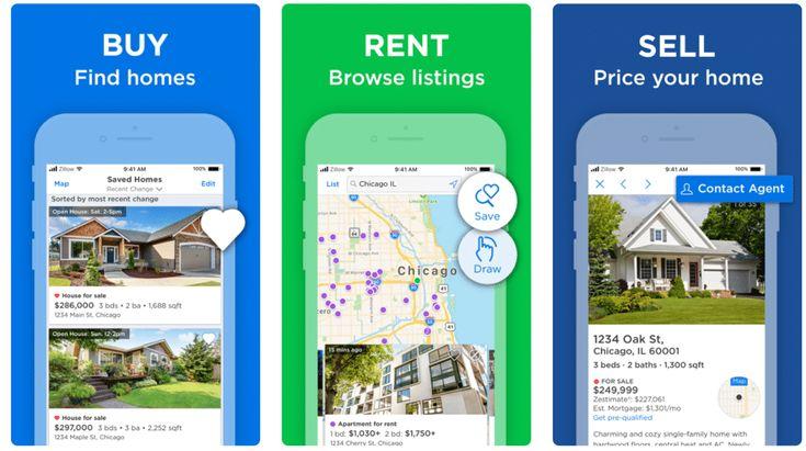 10 Top Real Estate App UI Design