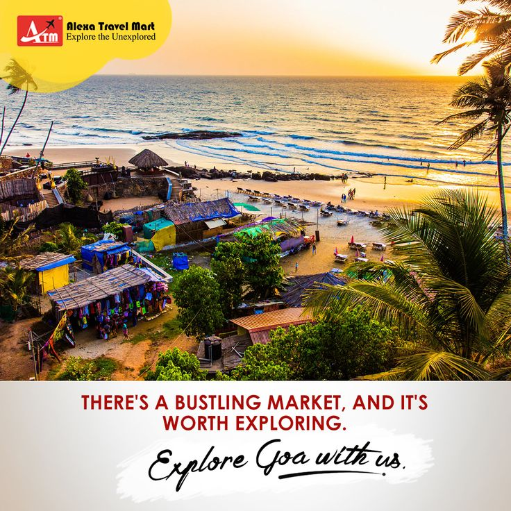 Get your wings out at Goa. Shop & explore the markets and treat yourself with authentic gifts.  Book Goa packages at Alexatravelmart.com  http://www.holidays.alexatravelmart.com/ #travel #traveling #letsgoeverywhere #tourism #destination #wanderlust #resort