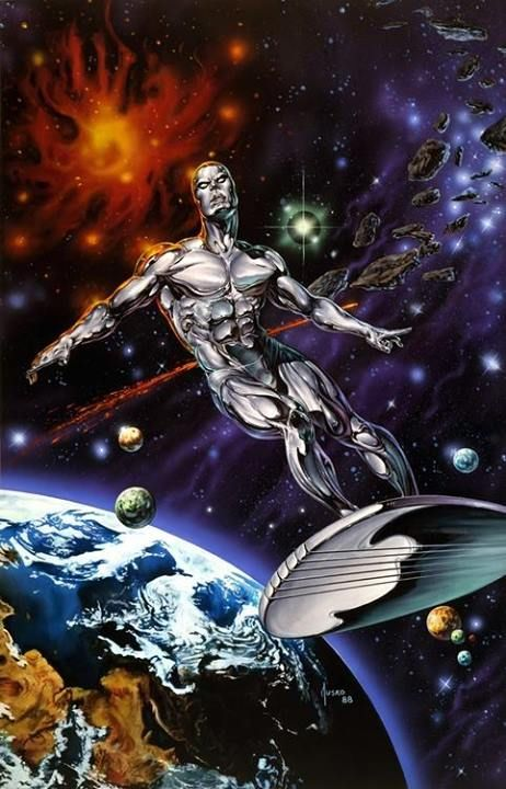 Silver Surfer by Joe Jusko