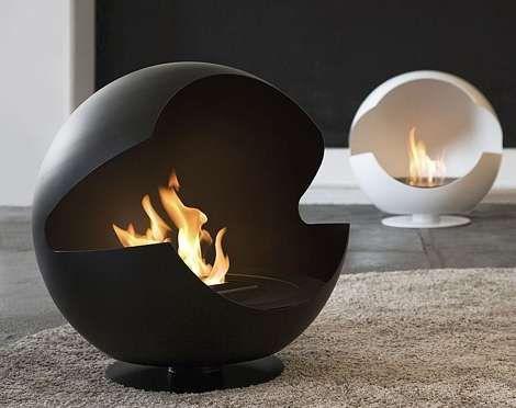 Modern Fireplace Designs from Vauni