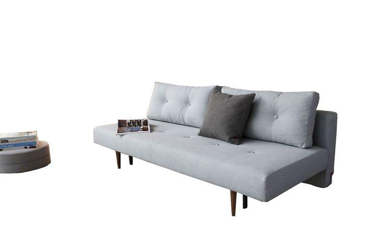 Door deze design slaapbank ben je ervan verzekerd dat je onverwachts bezoek eencomfortabele slaapplekaan kunt bieden. Met dedesign slaapbank Recastbespaar je ruimte in je kamer. Specificaties:  Afmeting bed: 140 x 200 cm. Comfort: pocketvering matras Bekleding: 100% polyester (donkergrijze met lichtgrijze knopen, soft pacific pearl blauw en mosterd geel) of 96% polyester / 4% linnen (donkerblauwe) Kleur: donkergrijs (met lichtgrijze knopen), donkerblauw, soft pacific pearl blauw en…