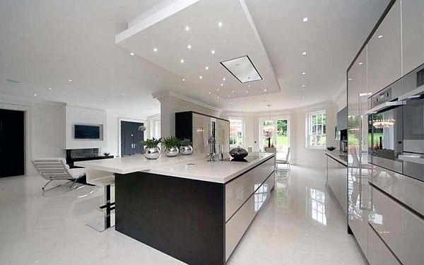The Entertaining Kitchen  The Make it and Break It Room: 20 Luxury Kitchens
