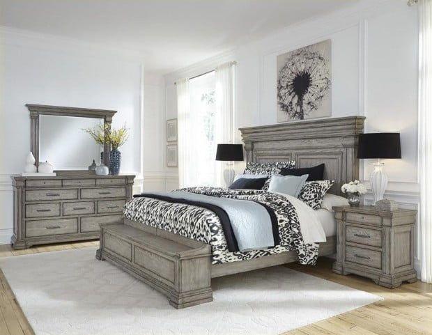 Madison Ridge Soft Grey Storage Bedroom Set From Pulaski Coleman Furniture King Size Bedroom Sets Bedroom Sets Queen King Bedroom Sets