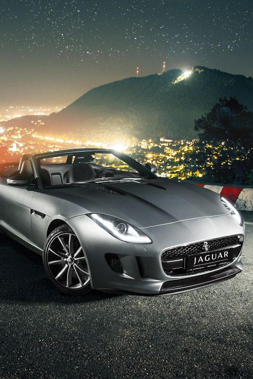 Jaguar F type.  I've always wanted a Jag...this one is nice!