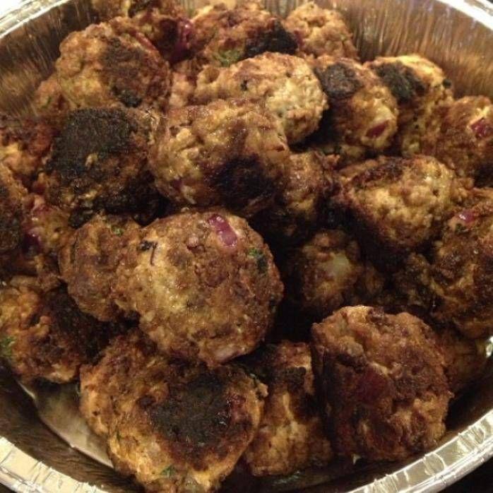 Vegetariska köttbullar till julbordet