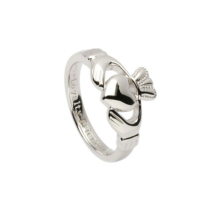 Sterling Silver Claddagh Ring | National Geographic Store