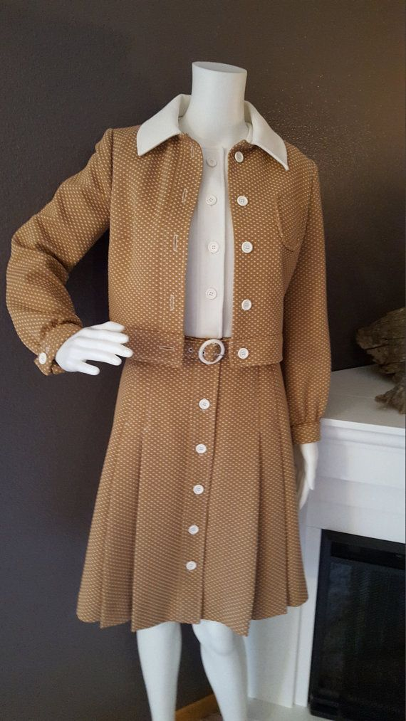 1960's Three Piece Dress By ALAMOR New York by EmmasGraceVintage
