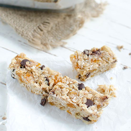 Flour Granola Bars with Walnuts and Dried Apricots | These chewy ...