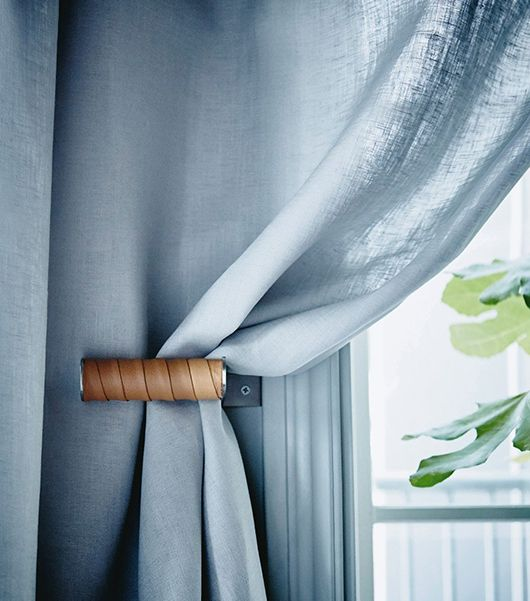 IKEA Hack for curtains with GRUNDTAL