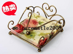 Кованое железо салфетки бумажные полотенца насосные / коробка, вешалка для полотенец, новый бронзовый - Taobao