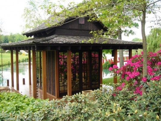 15 best images about tea houses on pinterest japanese for Japanese tea house garden design