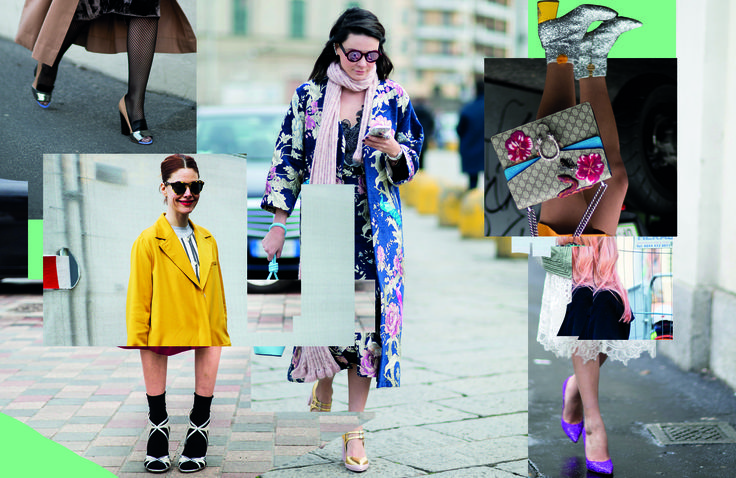 Shine bright: how to wear disco heels during the day