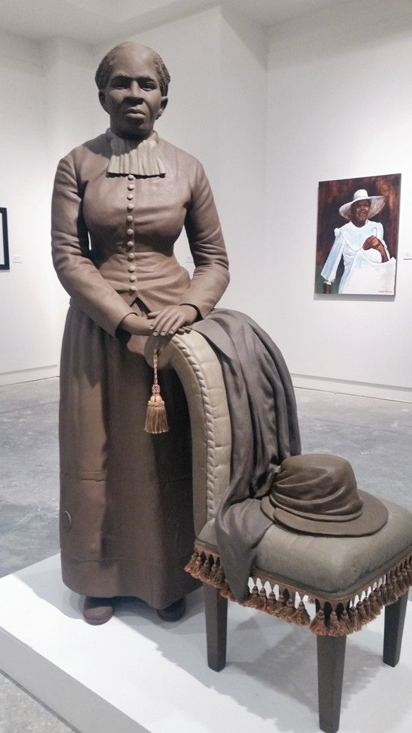 Black History Album .... The Way We Were — TUBMAN MUSEUM [20 Best Places Where Black History Comes Alive] A statue of Harriett Tubman is the centerpiece of the History Gallery at the Tubman Museum. Visit the official website: http://www.tubmanmuseum.com/
