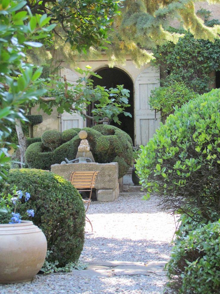 Nicole de Vésian's iconic garden (Jardin de la Louve) Bonnieux