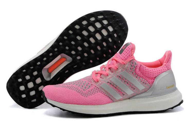 adidas Ultra Boost 2016 Pink Flash Metallic Silver UK Trainers 2017/Running Shoes 2017