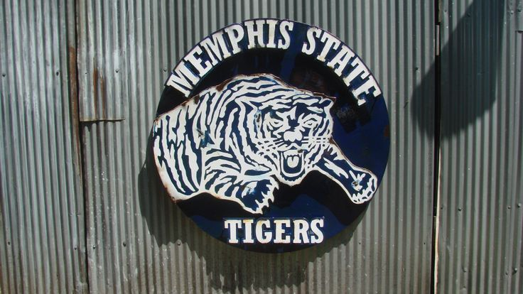 Memphis State Metal Art Most Unknown Memphis Tigers
