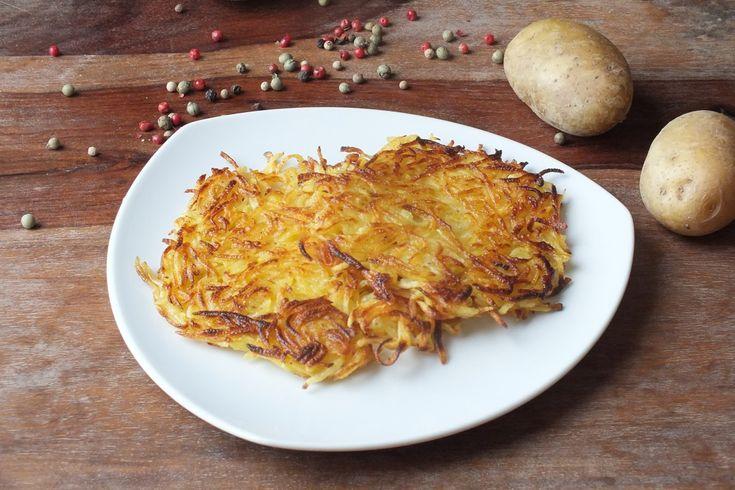 Kartoffelrösti - goldgelb & knusprig - Schritt für Schritt Anleitung