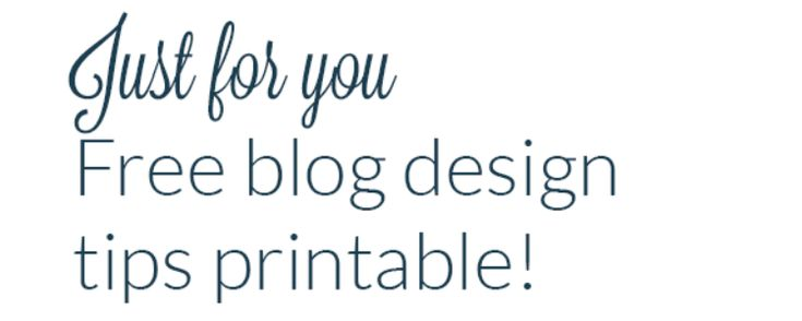 design tips for beginner bloggers | anatomy of the perfect blog.