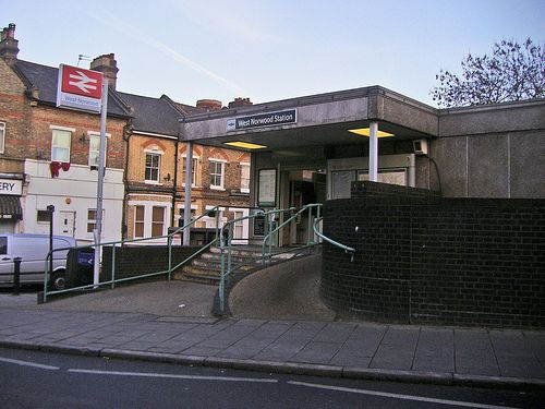 West Norwood Railway Station (WNW) in West Norwood, Greater London