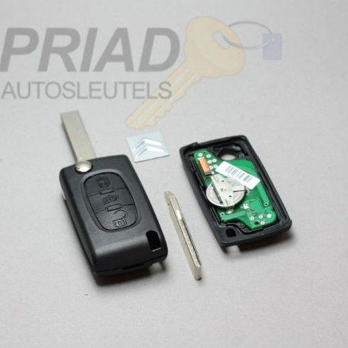 Citroen Behuizingen en Reparatie van Autosleutels   S-0304