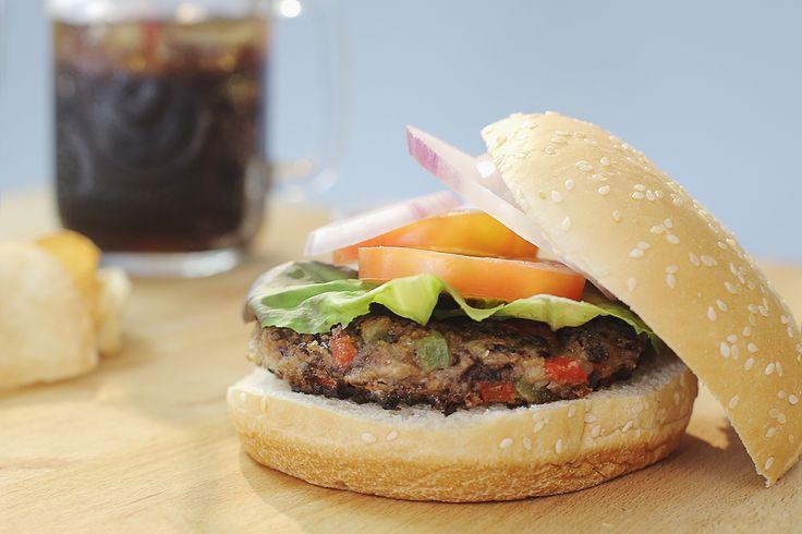 Seas vegetariana o no, amarás el veggie burger
