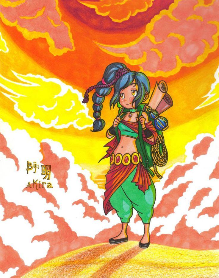 atardecer en un desierto by Akira-Minami on DeviantArt