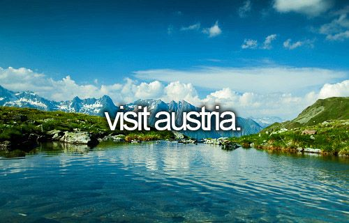 """Before I die, I want to...visit Austria and have a """"Before Sunrise"""" night!"""