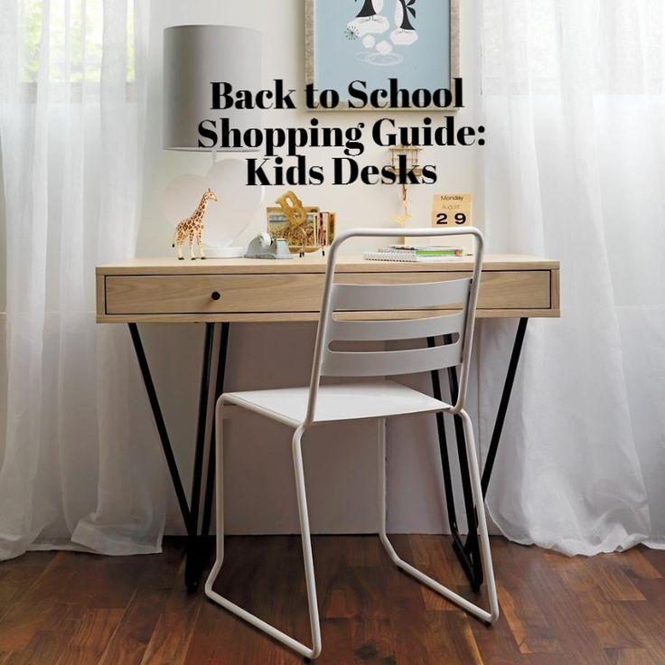 Back to School Shopping Guide: 10 Kids Desks