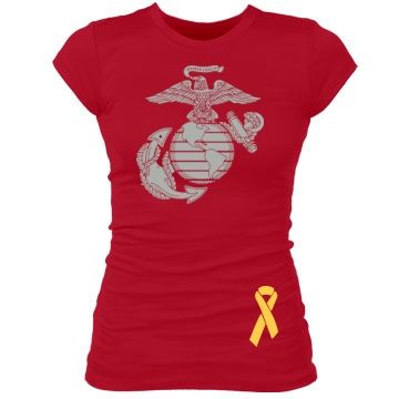 Red Friday Marine Corps t-shirt. I really like this! there is a trend already to called 'red shirt friday' to honor all troops but to do this for individual services is great too. http://redshirtfridays.org/