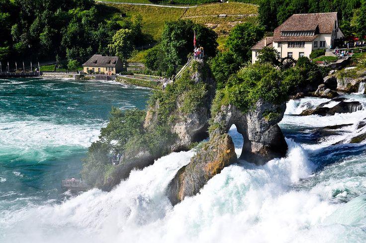 Half a day trip to Rhine Falls (Rheinfall), Switzerland