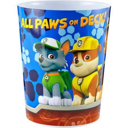 Nickelodeon Paw Patrol Rescue Crew Wastebasket - Walmart.com