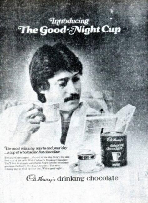 Cadbury hot chocolate - Jackie Shroff
