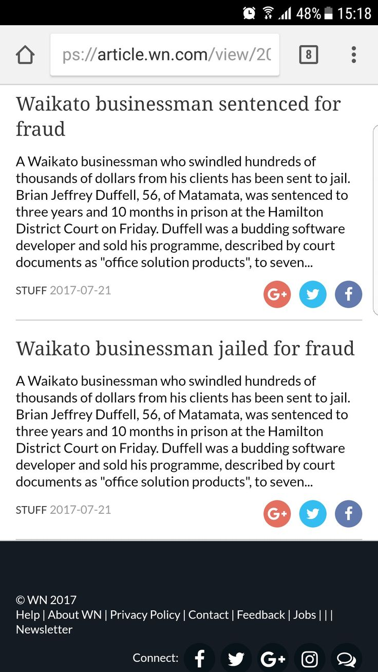 Finally Brian duffell of Matamata who admitted guilt of Fraud goes to Jail.