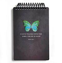 """O Give Thanks"" Psalm 106:1 Journal   LifeWay Christian Journal"