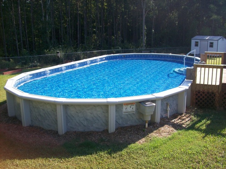 33 Best Images About Above Ground Pool Designs On Pinterest Gunite Pool Above Ground Swimming