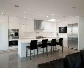 White Modern Kitchen Ideas the 135 best images about modern kitchen ideas on pinterest