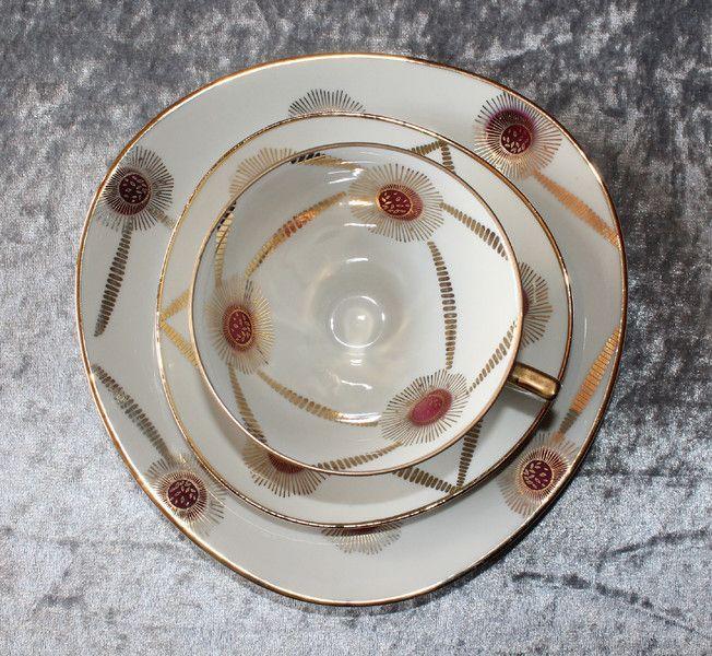 Vintage Sammeltassen - Vintage Sammeltassen Gedeck - Winterling  - ein Designerstück von Cups-Corner bei DaWanda