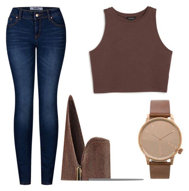 """""""Untitled #008"""" by liaperezmorales on Polyvore featuring Monki, 2LUV, Nine West and Komono"""
