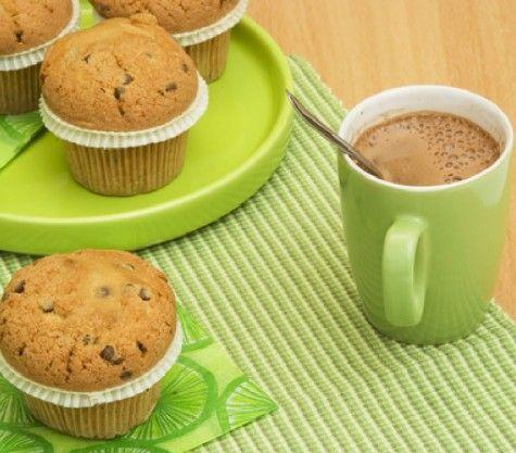 γευστικά κεϊκάκια με σοκολάτα και σταφίδες