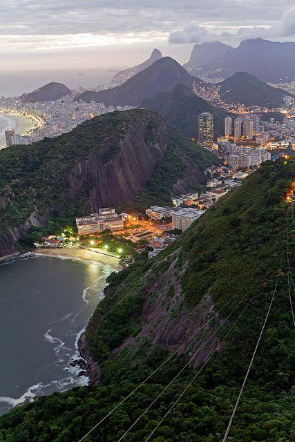 Rio de Janeiro view from Sugarloaf Mountain, Brazil