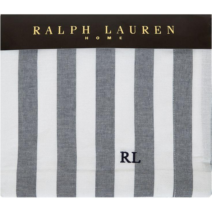 """Ralph Lauren"" Double Club Stripe Duvet Set - TK Maxx"