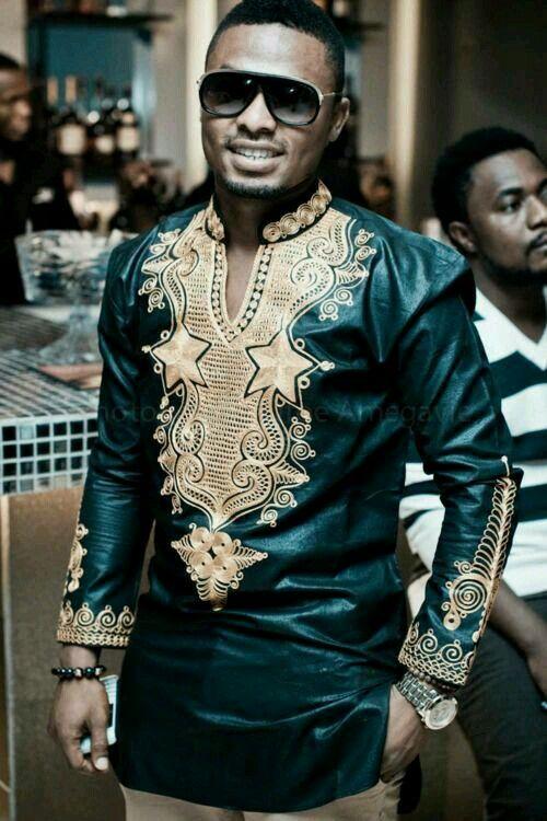 Men's shirt, African Shirt, Embroidery Shirt